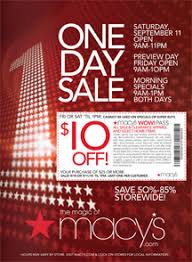 macy s one day sale clearance coupon cataldo
