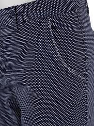 tmavě modré kalhoty s puntíky pepe jeans nina zoot cz