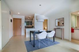 furnished apartment for rent with a pool in barcelona in eixample