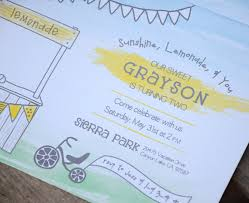 sunshine invitation sunshine and lemonade birthday party invitation and party photos