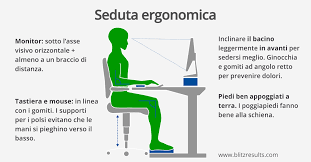 postura corretta scrivania ufficio ergonomico regolare l altezza tavolo e regolare