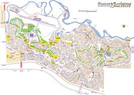 sunriver map sunset lodging