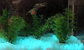 glow in the pebbles aqua glow in the fish tank rubble 8oz glow pebbles