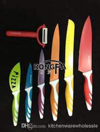 everrich printed knife set color knife new knife decal printing
