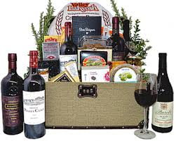Wine Baskets Wine Gift Baskets From Fancifull Gift Baskets