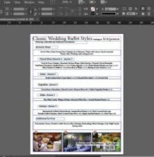 how to use microsoft publisher to create a restaurant menu