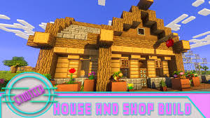 build a house minecraft how to build a house and shop for pam u0027s harvestcraft