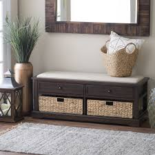 long entryway bench with storage for pics outstanding inch entry