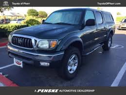 tacoma toyota 2003 2003 used toyota tacoma prerunner at toyota of pharr serving