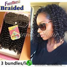 bohemian crochet hair 10inch 1b freetress braided crochet braids synthetic hair
