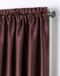Antique Satin Valances by Camelot Crinkle Satin Window Curtain Panel Curtainworks Com
