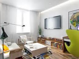 90 square meters decoration modern minimalist living room effect