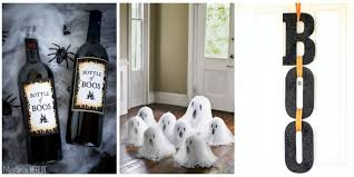 homemade home decorations 40 easy diy halloween decorations homemade do it yourself
