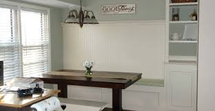 beautiful dining table with banquette seating booth round bench