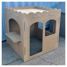 painting your cubby house kids fort or kids play furniture