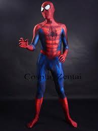 sale spidrman costume eye lenses 3d shade printing spiderman