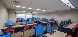 Computer Lab Interior Design Reserve A Computer Classroom Cornell Sha