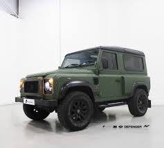 land rover defender 2010 project kahn defender 3m 1080 matte military green personal