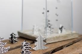 White Christmas Paper Decorations by Paper Look What I Made