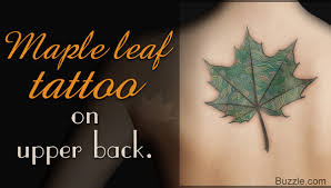 maple leaf tattoo meaning 14 awesome leaf tattoo design ideas that will win your heart