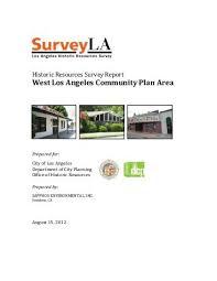 hispanic historic property survey report part 1