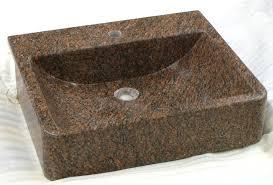 simple design granite bathroom sinks 16