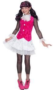 deluxe monster high draculaura girls costume birthdayexpress com