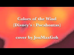 colors of the wind male cover disney u0027s pocahontas youtube