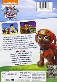 paw patrol cuccioli il tesoro dei pirati dvd amazon