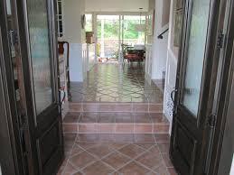 custom stained presealed saltillo tiles santa barbara staining