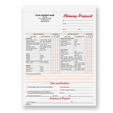 cleaning proposal template template images cleaning business