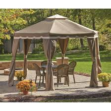 Patio Gazebos Castlecreek Hexagon Patio Gazebo 9 X12 676344 Gazebos At