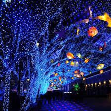 outdoor laser lights blue moving twinkle