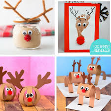 Kids Reindeer Crafts - 50 christmas crafts for kids the best ideas for kids