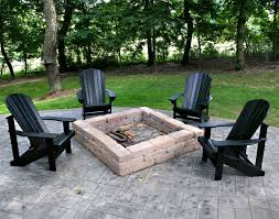 Outdoor Table With Firepit by Magical Outdoor Fire Pit Seating Ideas U0026 Area Designs
