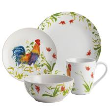 rooster canisters kitchen products home accessories interesting stoneware dinnerware sets for