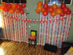birthday decoration ideas for kids at home interior design amazing 1st birthday decoration themes