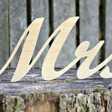 mr and mrs wedding signs shop mr and mrs wooden signs on wanelo