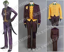 Asylum Halloween Costumes Batman Arkham Asylum Joker Tuxedo Costume Halloween Costume