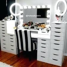 Makeup Desk Organizer Makeup Storage Desk Desk Makeup Storage Images Dressing Table