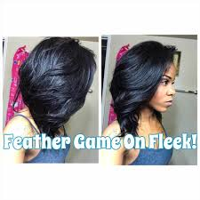 hair cut feather back fade haircut step feather cut hairstyle for straight hair front