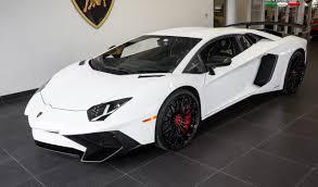 2016 Lamborghini Aventador - bianco monocerus lamborghini aventador sv for sale