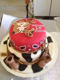 baby cowboy shower cake cakes i u0027ve made pinterest shower
