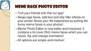 Meme Face Picture Editor - photo editor apps