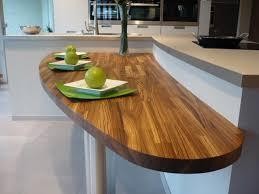 table cuisine sur mesure un plan snack dans ma cuisine flip design boisflip design bois