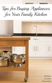 tips for buying kitchen appliances for your family kitchen