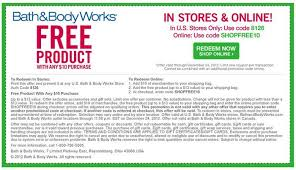 bathandbodyworks coupon love free stuff so do we get a free