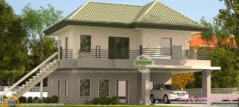 kerala model green roof home kerala home design bloglovin u0027