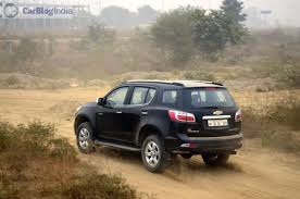 chevrolet trailblazer 2016 new toyota fortuner vs ford endeavour vs trailblazer comparison