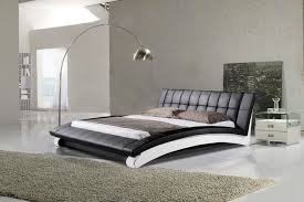 Italian Contemporary Bedroom Furniture Leather Bed Italian Leather Hx A060 Contemporary Bedroom